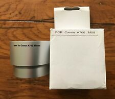Opteka Lens Adapter for Canon A700 58mm