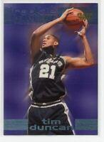 1997-98 FLEER ROOKIE SENSATIONS TIM DUNCAN ROOKIE!!
