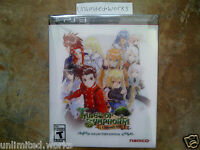 Tales of Symphonia Chronicles Limited Collector's Edition PS3 Brand New Sealed