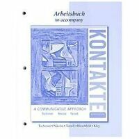 Workbook/Laboratory Manual for Kontakte 7th Edition by Erwin Tschirner (Author),