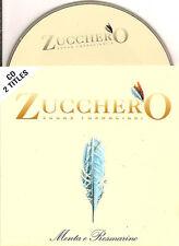 ZUCCHERO - menta e rosmarine CD SINGLE 2TR CARD 1997 RARE