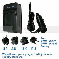 Battery charger for Panasonic Lumix DMC-ZS25, Leica V-Lux 40, DMC-ZS15 DMC-ZS19K