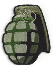 GRENADE HAT PATCH EXPLOSIVE TACTICAL US ARMY MARINES NAVY AIR FORCE PIN UP GUNS