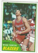 MYCHAL THOMPSON 1981-82 Topps #36 NM-MT NBA Portland Trail Blazers