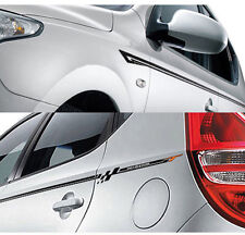 Line Decals Sticker Silver For 09 11 Kia  Forte Cerato Koup