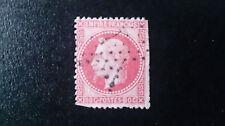 TIMBRE FRANCE louis  NAPOLEON N°24 OBLIT80C ROSE   VALEUR 40€