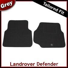 Landrover Defender (1990 ... 2003 2004 2005 2006)Tailored Carpet Car Mats GREY