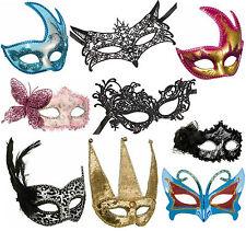 60Modelle venezianische Maske Venezia Halbmaske Augenmaske Spitzenmaske Karneval