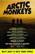 ARCTIC MONKEYS 2012 Laminated Australian  Tour Poster