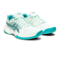 Asics Womens Gel-Game 7 Tennis Shoes White Sports Breathable Lightweight