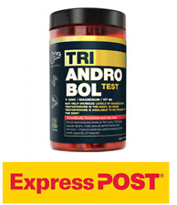 BODY SCIENCE TRIANDROBOL TESTOSTERONE BOOSTER BSC TEST  EXPRESS SHIPPING