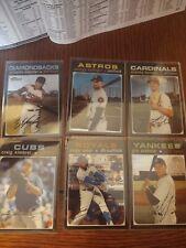 2020 Topps Heritage Baseball Chrome 6 Card Lot!! Soler!