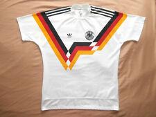 Deutschland GERMANY 1988-1990 ADIDAS HOME FOOTBALL SHIRT (SIZE L) TRIKOT