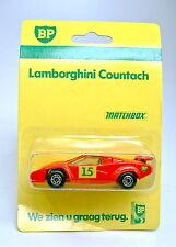 "Matchbox Superfast No. 11 Lamborghini Countach rot ""BP"" Werbemodell"