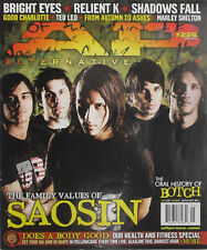 SAOSIN May 20007 A.P. Magazine BRIGHT EYES / RELIENT K / SHADOWS FALL / BOTCH