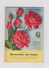 Blumen Herbstkatalog 1957 Bernardus von Saase Aalen Pflanzen Sträucher Fotos