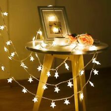 LED Star Lights Battery Operated Fairy String Wire Indoor Party Xmas Lamps FA
