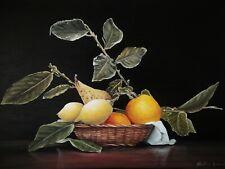Quadro Dipinto Ad Olio Su Tela Oil On Canvas Firmato Walter Geraci