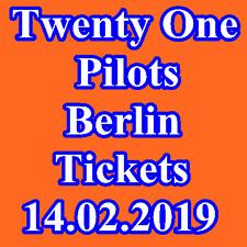 Tickets - TWENTY ONE PILOTS - BERLIN - Stehplatz Innenraum Karten - 14.02.2019