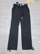 NEW Da-Nang Surplus Women's Pants Ankle Drawstring BLACK STT19471429 Size: SMALL