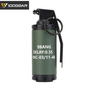 IDOGEAR MK 13 BTV-EL Flashbang Stun Grenade Model Dummy Wargame Airsoft Hunting