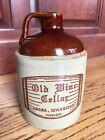 "Vintage ""Old Wine Cellar"" 4/5 Quart from Amana, Iowa 52203, Pottery Jug photo"