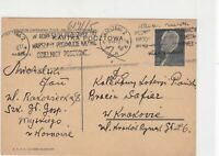 poland 1939 stamps card ref 20876