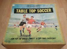 VINTAGE Tudor Rose anni 1960-TABLE TOP CALCIO-Boxed
