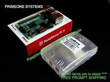NEW Raspberry Pi 3 Model 3 wireless LAN Bluetooth 1.2GHz Quad Core 64 Bit 1G RAM