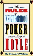 The Rules of Neighborhood Poker According to Hoyle, Stewart Wolpin, 0942257197,
