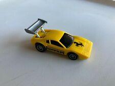 1982 Hot Wheels Power Command Racers Ferrari 308 Plastic Friction Car Yellow