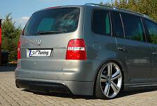 Heckspoiler Heckansatz spoiler au R-Look en ABS pour VW Touran, 1 T + Facelift