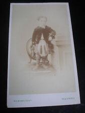 Cdv photograph boy on chair kilt sporran by Munro Edinburgh c1870s