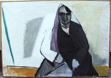 Felix Hatz 1904 - 1999, Alte Spanierin, um 1940/50