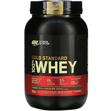 Optimum Nutrition  Gold Standard 100  Whey  Double Rich Chocolate  2 lb  907 g