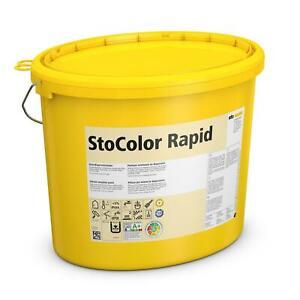 StoColor Rapid 15 l weiss 3 Eimer Innen-Dispersionsfarbe,Innenfarbe, Profiqualit