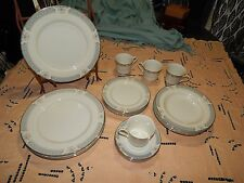 MIKASA Lexington IVORY BONE CHINA Dinner Service Set for 4 cup plate bowl 20 pc