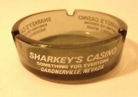 Vintage Sharkey's Casino Advertising Ashtray Trinket Dish L 111