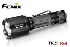 New Fenix TK25 Red Cree XP-G2 S3 1000 Lumens LED Flashlight ( White, Red )