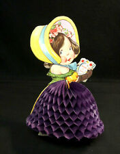 """Antique Made In Germany 7.75"""" Pop-Up 3-D Valentine Card"""