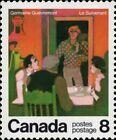 Canada    # 696   VF-NH   CANADIAN AUTHORS   Brand New 1976 Pristine Gum