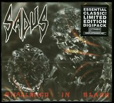 Sadus Swallowed In Black digipack CD new 2017 reissue Listenable Records