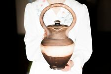 Handmade Stoneware jug Juice ewer Wine carafe Pitcher pottery Clay Juicer