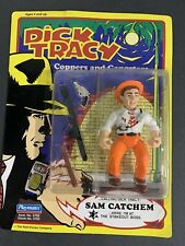1990 Dick Tracy Sam Catchem Action Figure Playmates Free Shipping Gangsters
