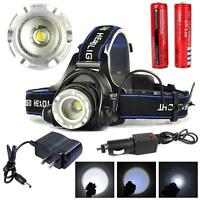 40000LM  T6 LED X-XM-L Headlamp Headlight flashlight head light lamp Torch PK