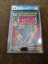 1973 Ghost Rider First Key Issue #1 White Pages CGC 8.5 VF+ 1st Son of Satan