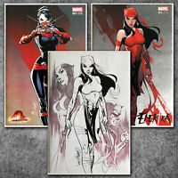 Elektra #1 Variant J Scott Campbell Exclusive Marvel (Set of 3) NM