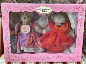 "Muffy Vanderbear Couture Cinderella ""Mufferella & Bunny Godmother"" NRFB Mint"