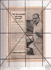 Vintage 1965 Popular Mechanics Magazine Ad A115 Autolite By Ford Parnelli Jones