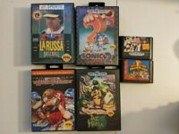 Lot of 6 Sega Genesis Games | All Tested & Working | Some Complete w/ Manual